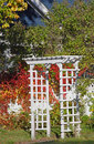 Fall Arbour Royalty Free Stock Photo - 3409155