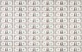 Sheet Of One Dollar Bills As Wallpaper Stock Images - 34001234