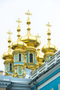 Domes Catherine Palace, St. Petersburg Stock Photo - 34004890