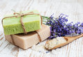 Natural Herbal Soap Royalty Free Stock Images - 34006369