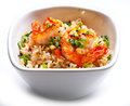 Rice With Shrimps. Stock Images - 34008364