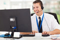 Technical Support Operator Royalty Free Stock Image - 34017046