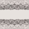 Floral Border. Royalty Free Stock Photo - 34026375