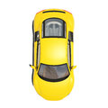 Yellow Super Car Isolated On The White Background Royalty Free Stock Photography - 34042607