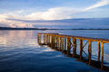 Wooden Jetty Royalty Free Stock Image - 34066806