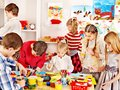 Child Painting At Art School. Stock Photography - 34069422