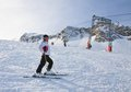 Alpine Skier. Ski Resort Of Kaprun, Royalty Free Stock Images - 34074759
