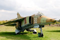 Jetfighter Mig-27. Stock Photography - 34084552