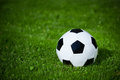 Soccer Ball On The Grass Stock Photo - 34100140