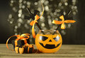Halloween Drink With Gifts Stock Image - 34105471