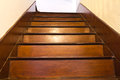 Classic Wood Stair Royalty Free Stock Photo - 34114915