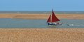 Red Sailed Boat Royalty Free Stock Image - 34117456