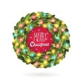 Christmas Garland Wreath Vector Image Stock Images - 34123944