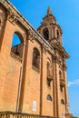 St Publius Church Side Royalty Free Stock Photo - 34125675