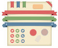Labels,Tags & Ribbons, Icons Stock Image - 34145591