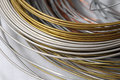 Lot Of Different Metal Wire Stock Image - 34155091