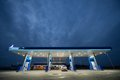 Gazprom Gas Station - Romania Royalty Free Stock Image - 34182216