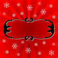 Christmas Ornamental Frame Royalty Free Stock Photography - 3425847
