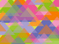Fun Pastel Triangles Stock Images - 3428814