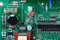 Circuit Board With Many Electronic Components Stock Image - 34230581