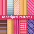 Different Striped Vector Seamless Patterns Stock Photo - 34237760