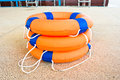 Life Preserver Floating Royalty Free Stock Photography - 34238237