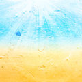 Abstract  Sea Water Summer  Textured Background With Summer Ray Stock Photos - 34239133
