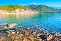 Crystal Clear Waters And Mountains Royalty Free Stock Photo - 34252645