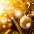 Abstract Christmas Background On Luxury Cloth Royalty Free Stock Photo - 34254695