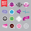 Vector Logos Of Better Quality Royalty Free Stock Photos - 34256888