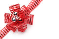 Red Ribbon And Bow Stock Photography - 34260512