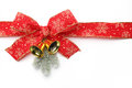 Red Ribbon And Bow Stock Photography - 34260572