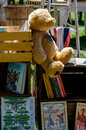 Old Toys And Books For Sale Royalty Free Stock Photo - 34262745