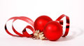 Red Cristmas Balls Royalty Free Stock Photography - 34298127