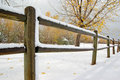 Snow Fence Royalty Free Stock Photography - 3433417
