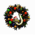 Christmas Wreath 2 Stock Photo - 3434550