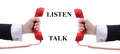 Listen And Talk Royalty Free Stock Image - 34300406