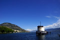 Old Tug Boat Moored On Lake Okanagan Royalty Free Stock Photos - 34304478