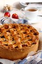 Appeltaart, Homemade Traditional Dutch Apple Cake Royalty Free Stock Photography - 34314637