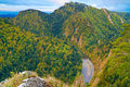 The Dunajec River Gorge. The Pieniny Mountains. Stock Images - 34324034