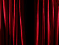 Red Curtain Royalty Free Stock Photography - 34324087