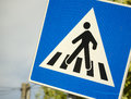 Pedestrian Crossing Sign Royalty Free Stock Photography - 34334977