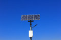 Solar Lamp Pole Stock Images - 34345694