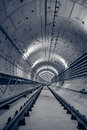 Deep Metro Tunnel Royalty Free Stock Image - 34352806