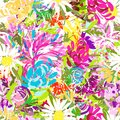 Floral Summer Bouquet For Your Design Stock Photos - 34357733