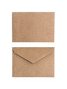Two Brown Envelope Royalty Free Stock Photo - 34374125