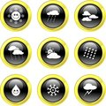 Weather Icons Royalty Free Stock Photography - 3449617