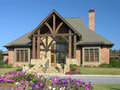 Luxury Home Exterior 02 Royalty Free Stock Image - 3449736