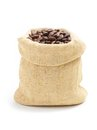 Coffee Beans In Burlap Sack Royalty Free Stock Image - 34402056