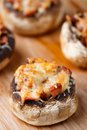 Stuffed Champignons With Ham And Cheese Stock Photo - 34405870